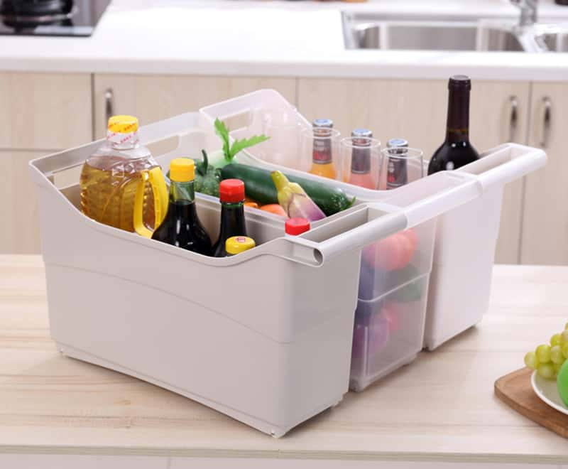 manija de cocina caja de almacenamiento